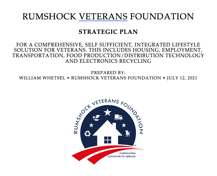 Rumshock Veterans Foundation Business Plan