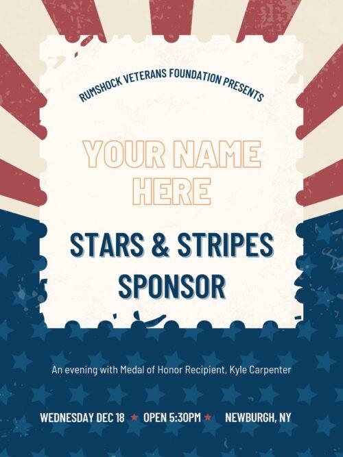Stars & Stripes Sponsor