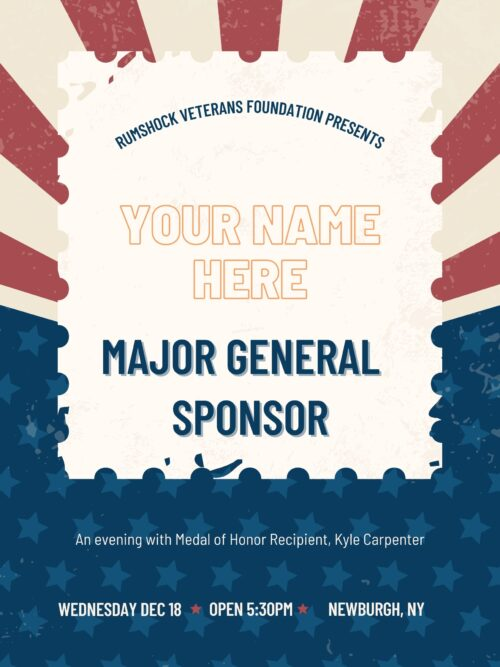 Major General Sponsor